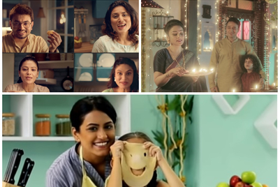 Collection of Diwali 2020 ads