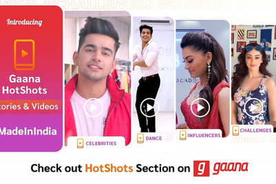 Gaana launches social videos platform called HotShots
