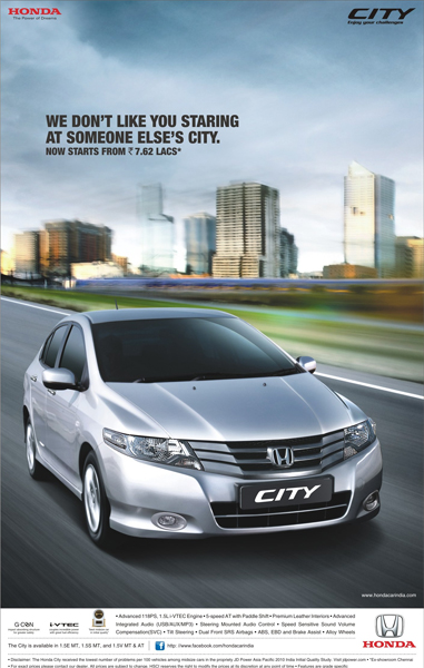Honda City Releases A New Commercial To Promote Its Price