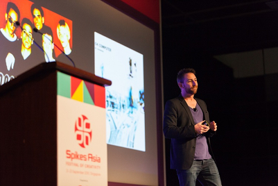 Spikes Asia 2016: 'We are much more likely to persuade people with a new argument': James Hurman