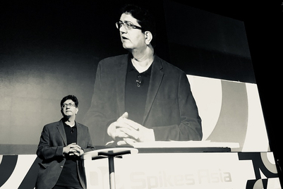 "Spikes Asia 2018: 'We are losing the platform to create waves because consumers are creating them"": Prasoon Joshi"
