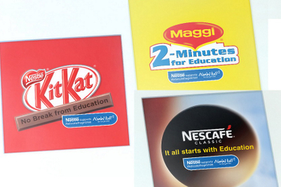 Nestle pledges brand lines for Nanhi Kali, says 'It all starts with education'