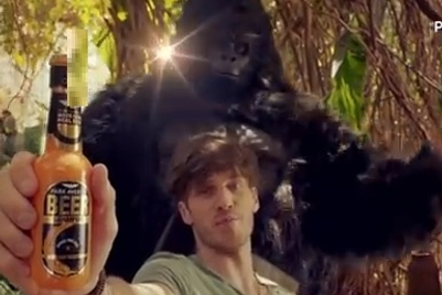 Park Avenue Beer Shampoo promises hair that withstands  even the 'Gorilla massage'