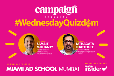 Campaign India's #WednesdayQuizdom series to kick-off