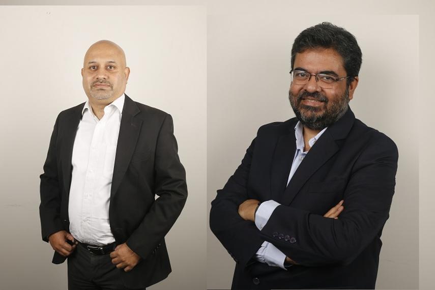 (L-R) Indranil Banerjee and Sourabh Mishra