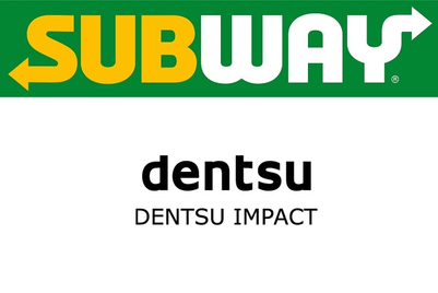 Subway appoints Dentsu Impact to handle creative