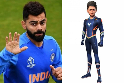 Blog: Virat Kohli as 'Super V' - a modern day Marvel?