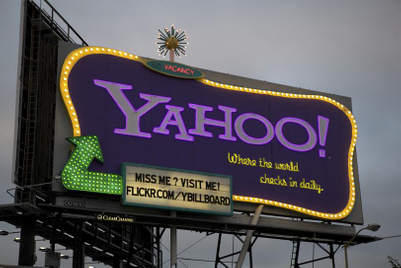 The history of Yahoo in seven ads