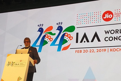 IAA World Congress: Amitabh Bachchan says Dharm, Sri Sri Ravishankar says Dharma is equally good
