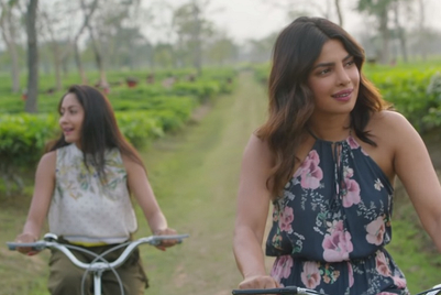Priyanka Chopra is back in Awesome Assam