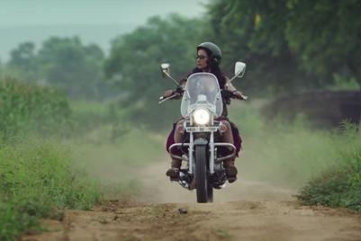 Bajaj Avenger botches 'women's liberation' ad