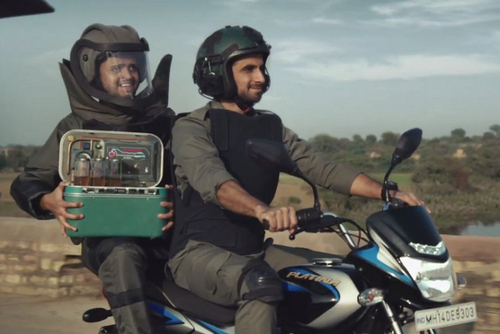 Bajaj Platina's 'no jolts' helps bomb squad