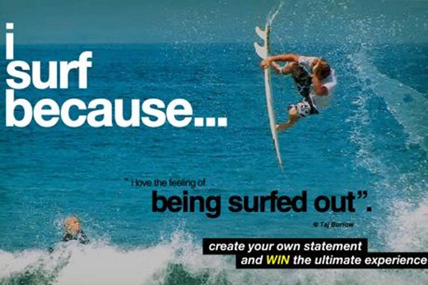 热爱冲浪的理由
