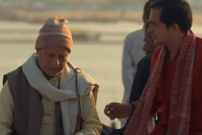 Brooke Bond's next tale of togetherness shows a father-son duo at Kumbh