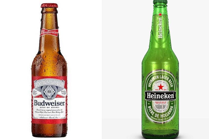 Budweiser vs Heineken
