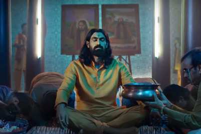 Rana Daggubati plays 'keel wale baba' for Ceat's 'Puncture Safe' range