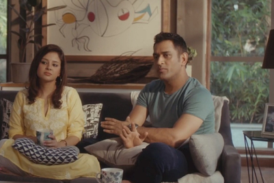 Colgate gets the Dhonis to reveal their 'andar se strong' moment