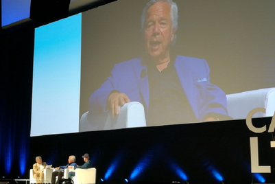 Cannes Lions 2017: 'Hard thing and right thing are usually the same,' Robert Kraft
