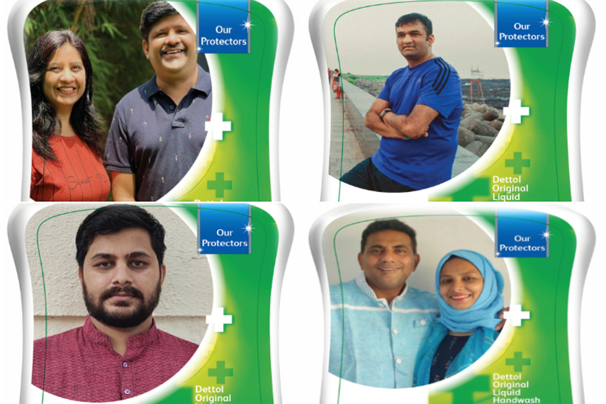 Dettol salutes 'Covid protectors' by placing them on the label