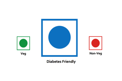 Now, a 'Blue Dot' to announce diabetic-friendly dining options
