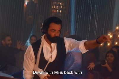 Xiaomi gets DJ Bobby Deol to kickstart Himesh Reshammiya and Mouni Roy's Diwali party