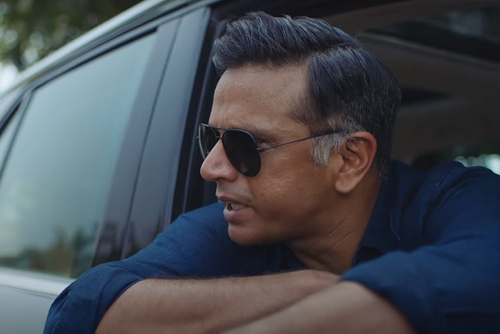 Rahul Dravid appears as an 'angry young man' for Cred