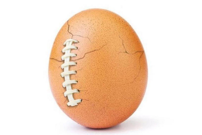 Hulu hijacks Instagram's World Record Egg to push live TV for Super Bowl