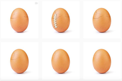 Eugene the egg revealed as cracking campaign for mental health