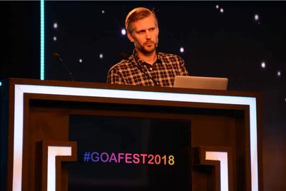 Goafest 2018: 'Trust + Responsibility = Courage': Samuel Akesson