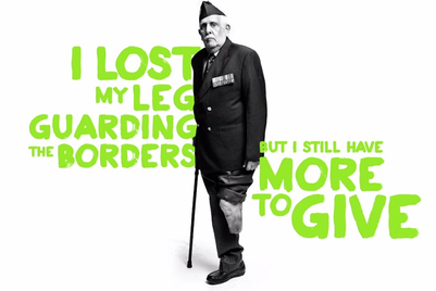 Soldiers who lost limbs in service have #MoreToGive; 'What about you?' asks Fortis