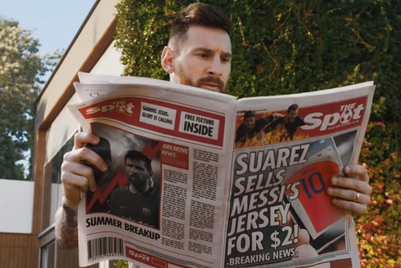 FC Barcelona's Leo Messi and Luis Suarez turn foes in Gatorade global campaign