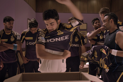 Gionee gets smiles into KKR's locker room, unveils new brand identity