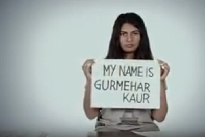 Advertising in the times of Gurmehar Kaur