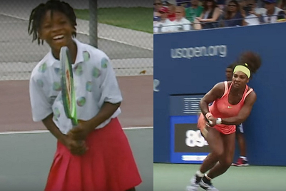 Nike shows a young Serena Williams preparing to fulfil 'crazy dream'