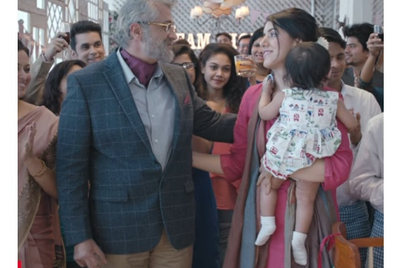 HDFC Life scripts another doting father-daughter exchange