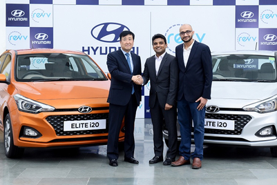Hyundai enters 'self-drive car sharing' with investment in Revv