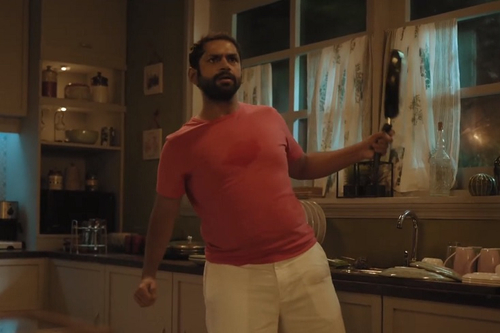 ICICI Lombard shows a heart in conversation with a stomach for 'World Heart Day'
