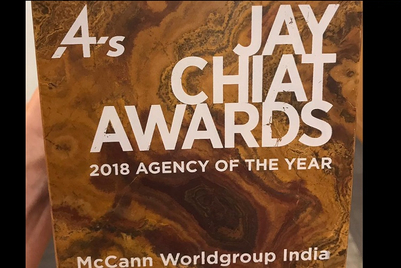 Jay Chiat Awards 2018: McCann Worldgroup is agency of the year
