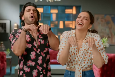 Jio gets Deepika, Ranveer and IPL teams to dance to 'Dhan Dhana Dhan' tune for Fiber