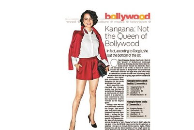 Turkey of the fortnight: DNA on the 'Queen' of Bollywood