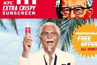 Inside KFC's decision to make fried chicken sunscreen