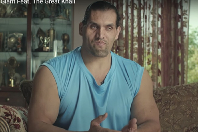 The Great Khali moves out of Publicis Ambience