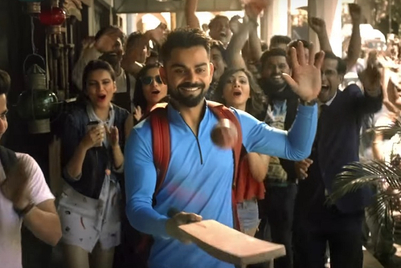 Now Virat Kohli's Tap Up challenge will visit the Mumbai local
