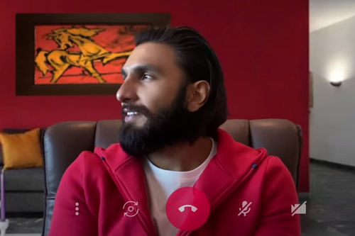 Ranveer Singh shows how Kotak 811 lets you 'bank from home'