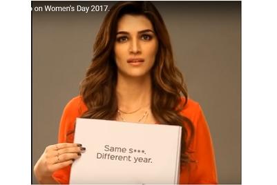 Ms.Taken identity on International Women's Day