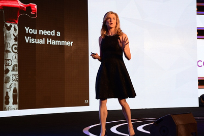 Goafest 2017: Use the visual hammer, Laura Ries