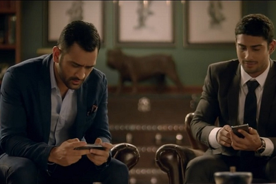 Lava Mobiles makes 'Never lets you down' promise with Dhoni and Babbar