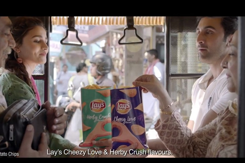 Alia and Ranbir engage in playful banter for new Lay's flavours