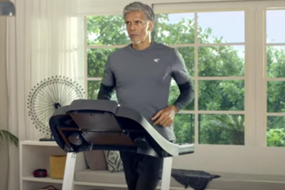 Milind Soman commits to resisting laziness for Lifelong