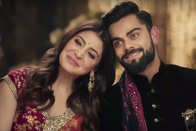 Manyavar get Anushka Sharma and Virat Kohli to spin new 'wedding vows'